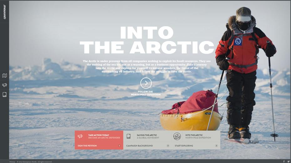 Into the Artic - Greenpeace
