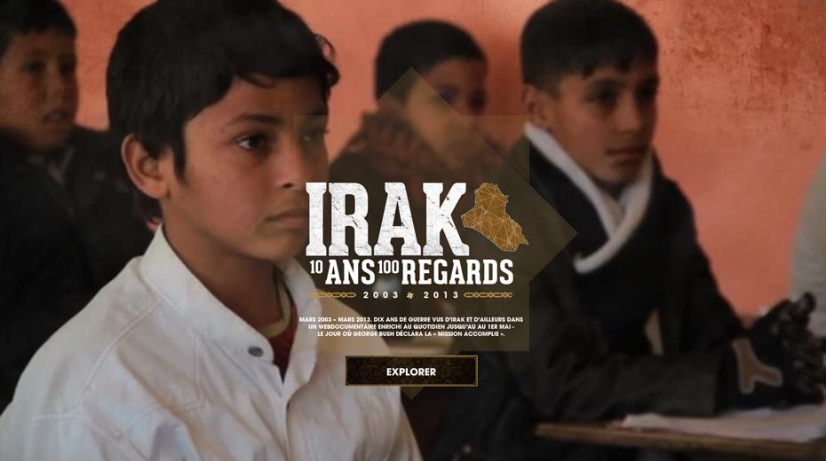 Irak 10 ans, 100 regards