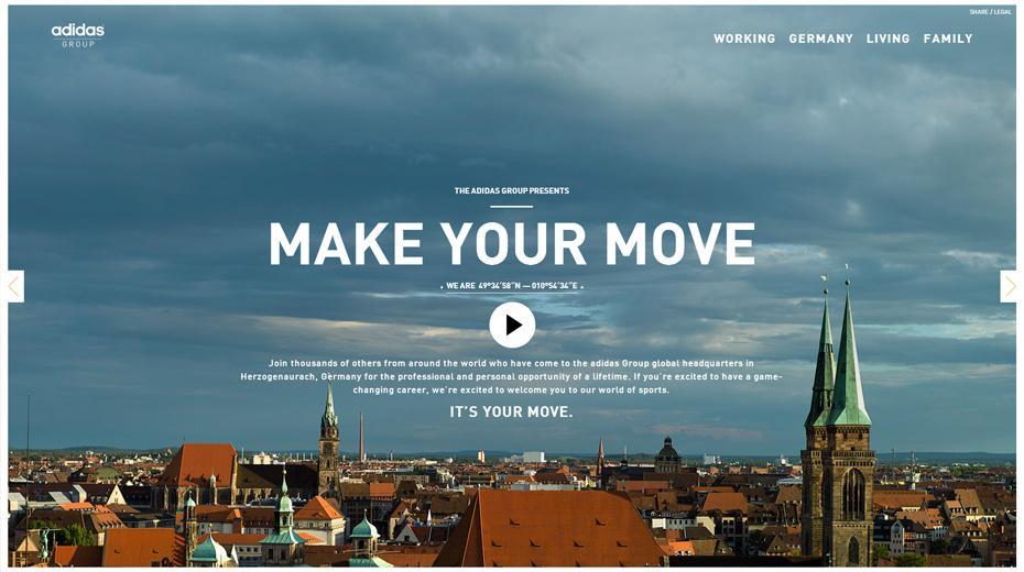 Make your move Herzo Adidas