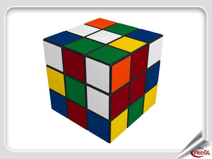 WebGL Rubik's Cube