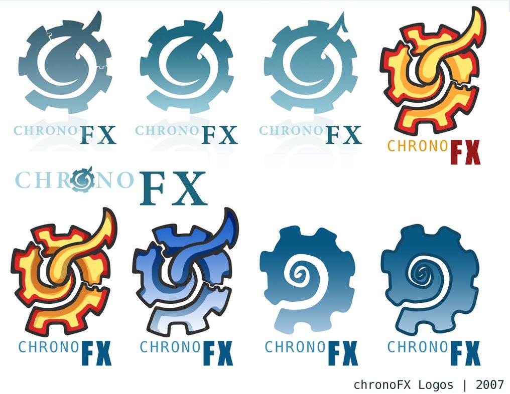 chronoFX Logos by darthrith