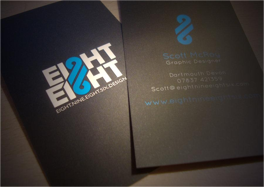 8986 Business Card by 8986design