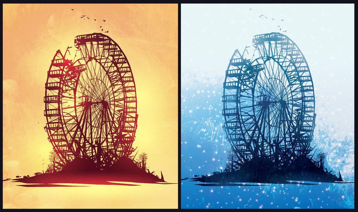 Broken Wheel. by ChasingArtwork