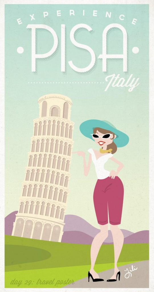 Day 29 A Travel Poster by liliribs