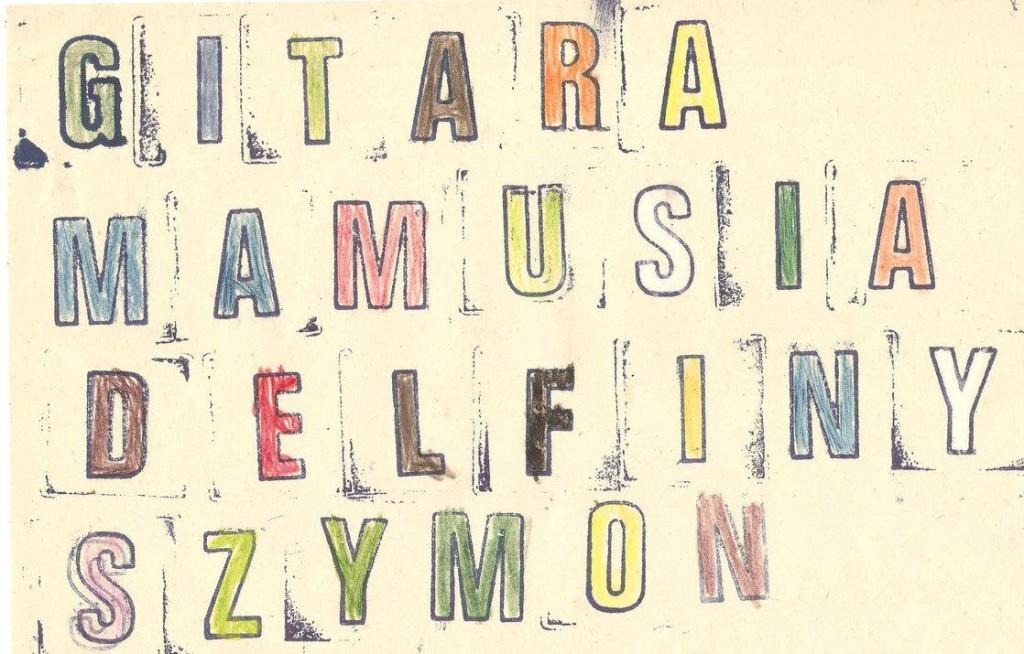Literowe pieczatki - Letter stamps by szymmirr