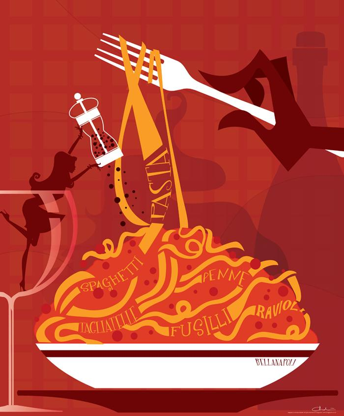 Pasta by Coolgraphic