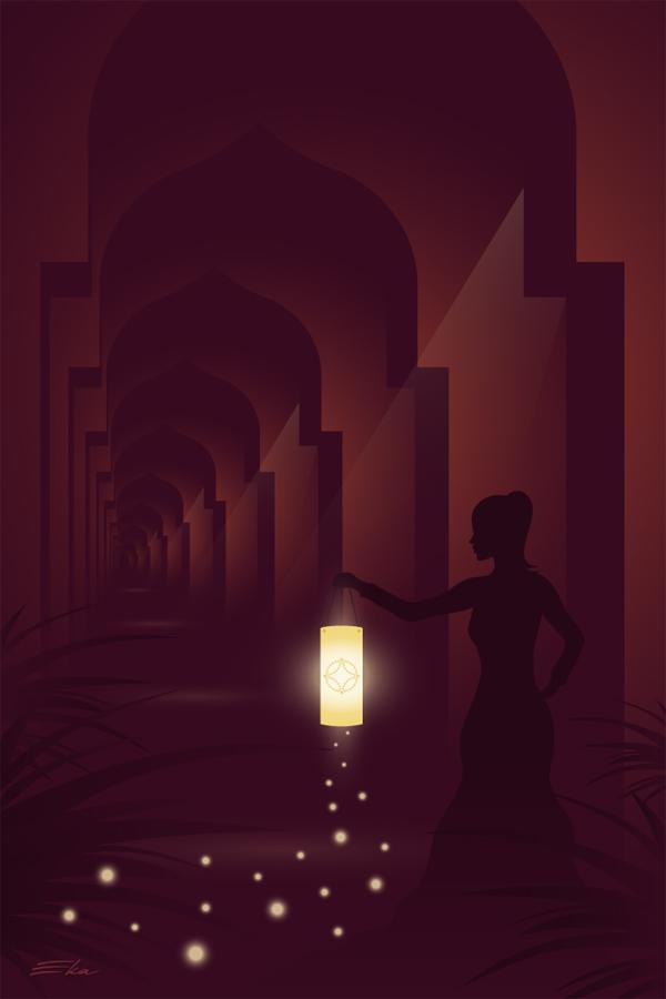The Hall of Mystery by ekster