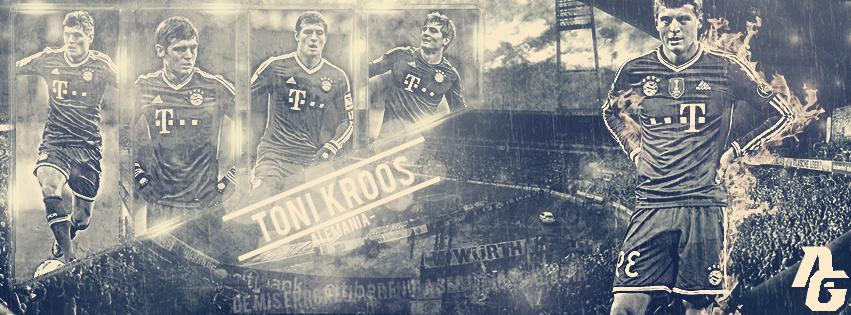 Toni Kroos Cover by AlfonsoRuiz87