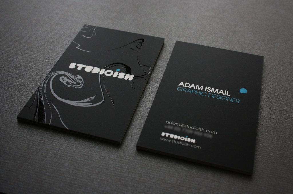 studioish business cards by studioish