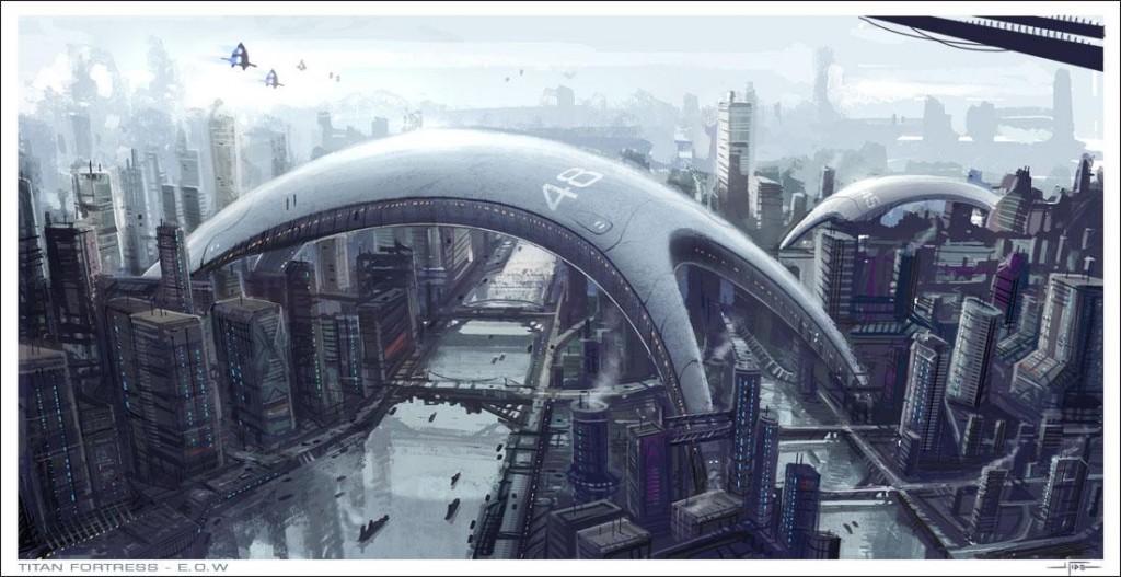 Titan Fortress - E.O.W by Hideyoshi