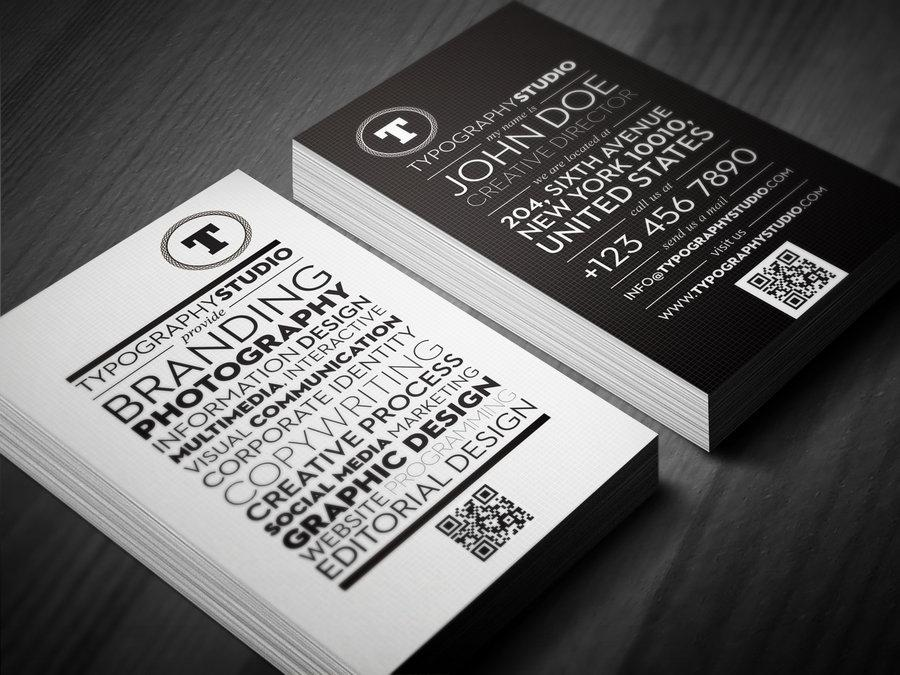 Amazingly Awesome Business Cards Examples - HowToWebDesign.org