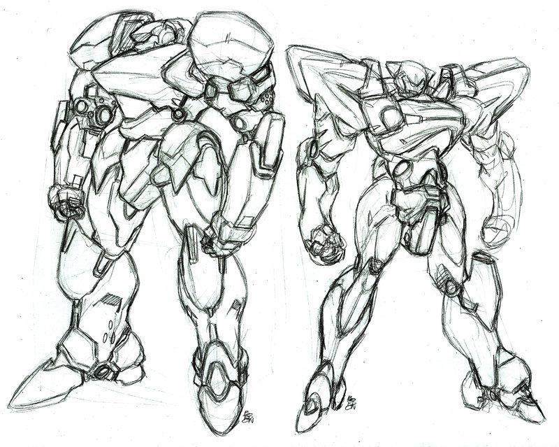 mech stuff prototypes by bordon