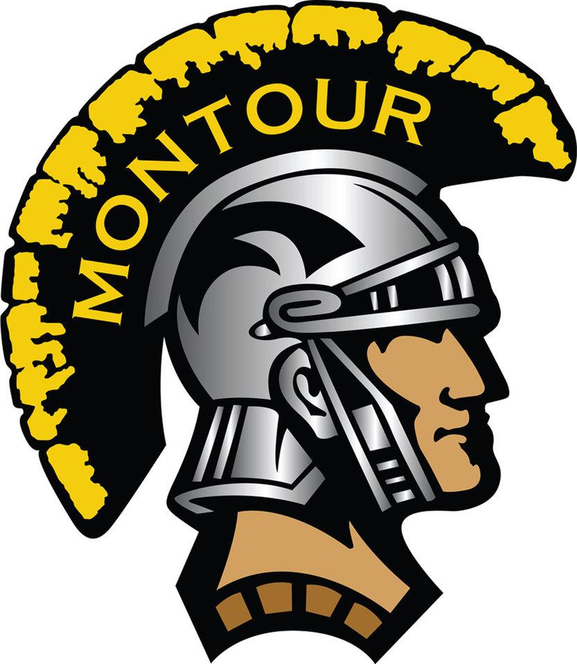 Montour Logo Right Face Small By Steelers