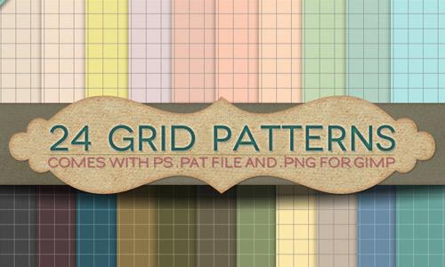 24 Grid Patterns
