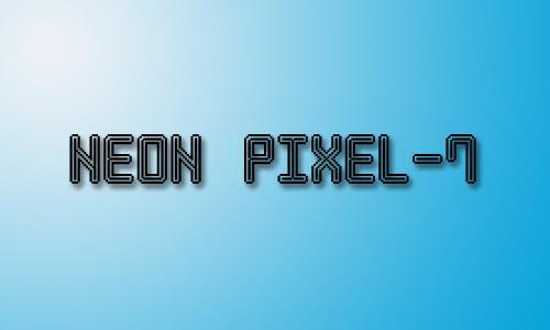Neon Pixel-7