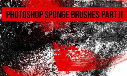 Photoshop Sponge Brushes Part 2