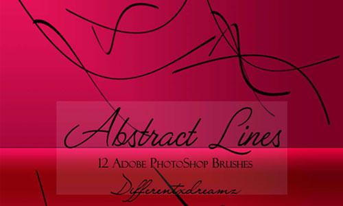 Abstract Lines Brushes