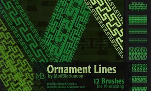 MB Ornament Lines