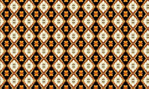 Tan Diamond Pattern 1