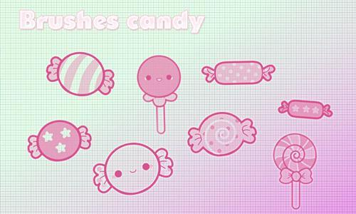 Brushes Candy