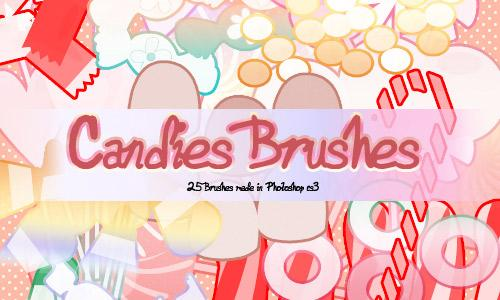 Candies Brushes 2