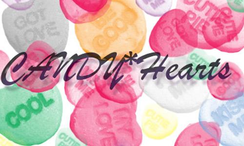 Candy Hearts Brushes