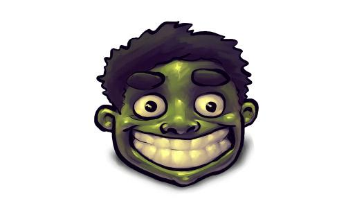 Comics Hulk Happy Icon