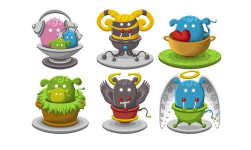 Basket Monsters 2 Icons