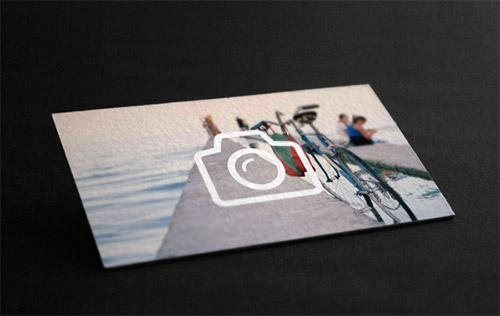 Business card for Bakurova photographer