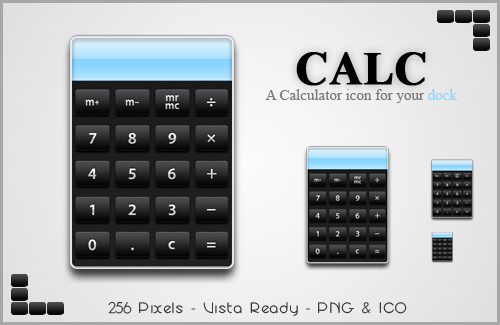 Calc - a Calculator Icon by SacrificialS