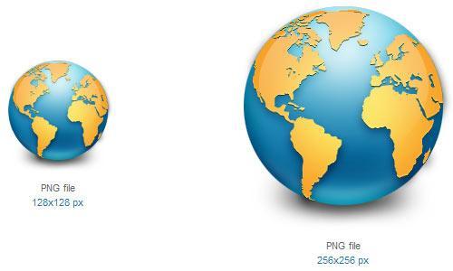 Globe Icon by Cyberchaos05