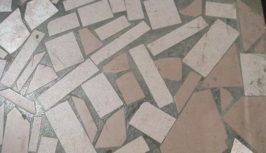 Gray mosaic by Matti Mattila