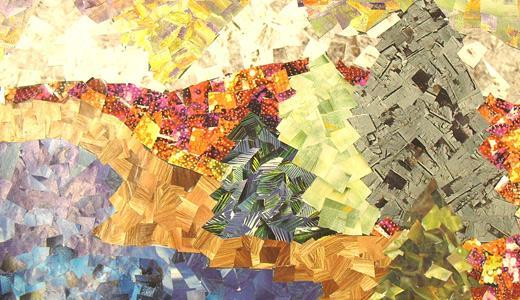 Mosaic Landscape by carouselfan