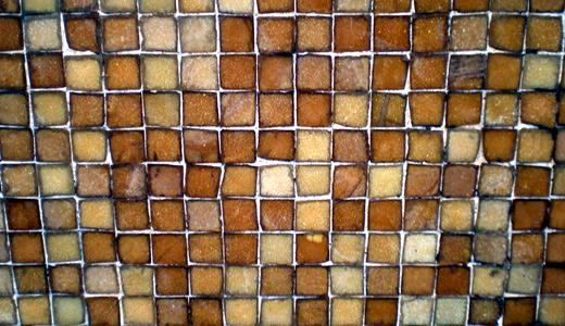 Stock Texture - Brown Mosaic by rockgem